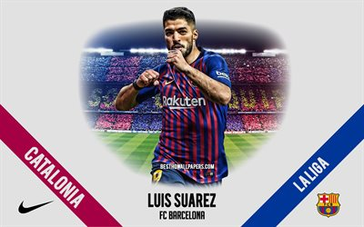 Luis Suarez, FC Barcelona, Uruguayan footballer, striker, Camp Nou, La Liga, Spain, football, Catalonia, Barcelona