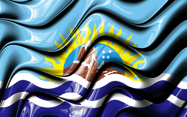 Download Wallpapers Santa Cruz Flag 4k Provinces Of