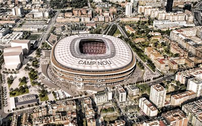 Camp Nou, project, new stadium, FC Barcelona, Catalonia, Barcelona, Spain, FC Barcelona stadium