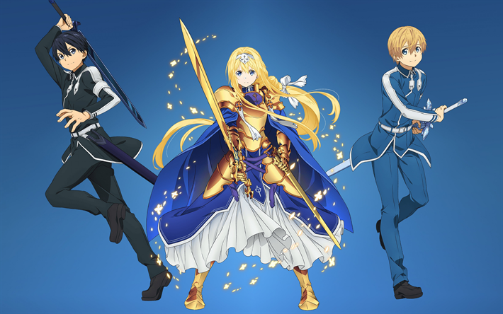 Download Wallpapers Sword Art Online Alicization Sao
