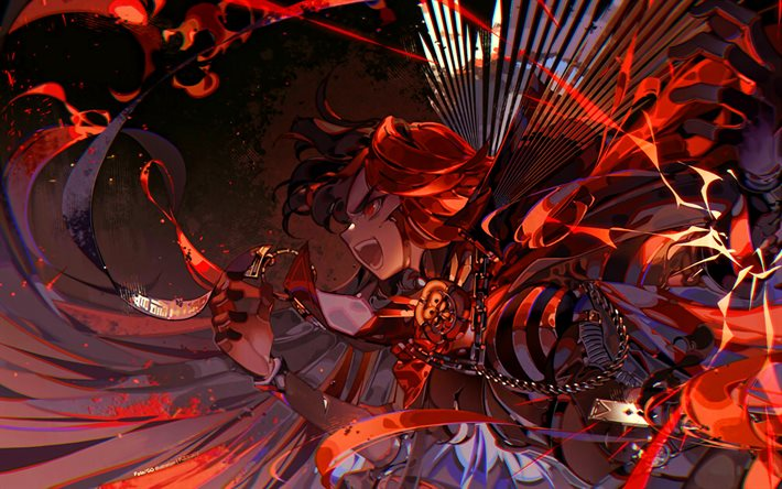 Download Wallpapers Oda Nobunaga Battle Fate Grand Order Artwork Fate Series Type Moon Nobunaga Oda For Desktop Free Pictures For Desktop Free