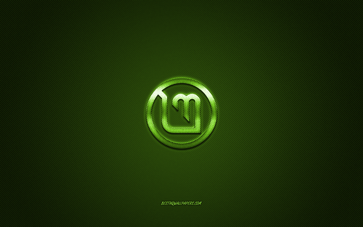 Download Wallpapers Linux Mint Logo Green Shiny Logo Linux
