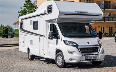 Weinsberg CaraHome, 4k, campervans, 2020 buses, road, campers, house on wheels, Weinsberg