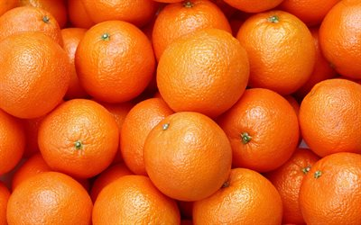 oranges, citrus fruits, background with oranges, oranges texture, orange background, fruits