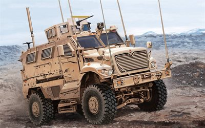 International MaxxPro MPV, MRAP, armored fighting vehicle, US Army, M1235A1, american armored cars