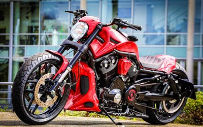 Harley-Davidson Night Rod, tuning, Red Devil, 2020 bikes, superbikes, american motorcycles, Harley-Davidson