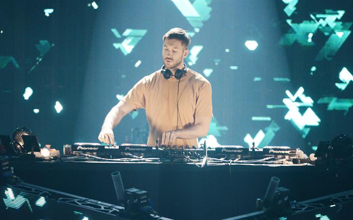 Calvin Harris Scottish DJ Singer Portrait Popular