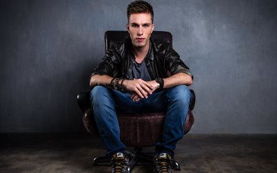 Nicky Romero, Popular DJ, portrait, young artists, young star