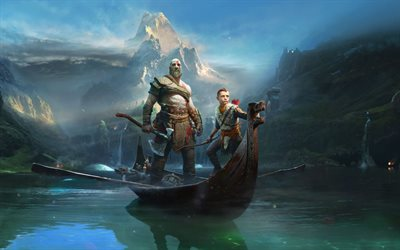 God Of War 4, action, adventure, 2018 games