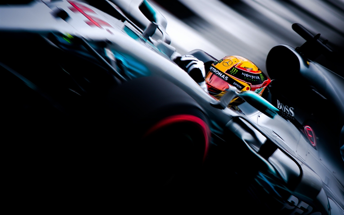 Mercedes w08 f1 wallpaper 4