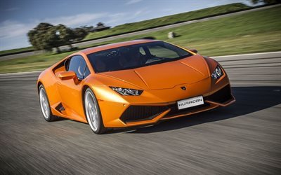 lamborghini, huracan, all-wheel drive sports car, lp610-4