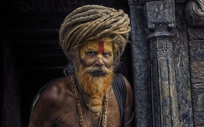 male, ascetic, india, yogi, sadhu