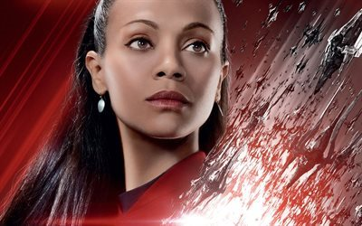 fiction, zoe saldana, 2016, lieutenant uhura