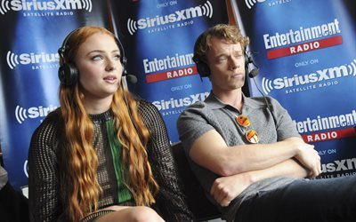 festival, comic con, british actress, san diego, alfie allen, sophie turner, british actor, game of thrones