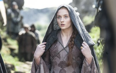 game of thrones, serie, l'attrice inglese, sophie turner, sansa stark