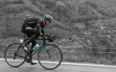 british cyclist, chris froome, team sky