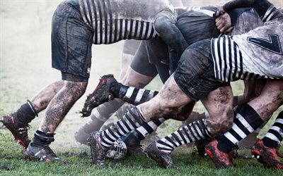 rugby, game, sport
