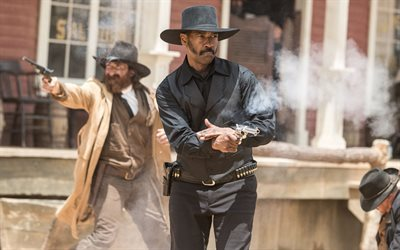 western, 2016, denzel washington, magnificent seven