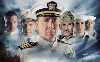 uss indianapolis, nicolas cage, 2016, action, courageous people