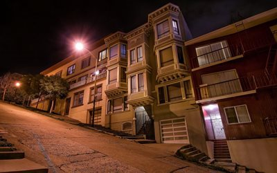 street, night, home, san francisco, ca