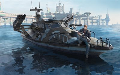 Just Cause 3, Bavarium Sea Heist, DLC, Avalanche Studios, Square Enix