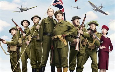 2016, dads army, comedy