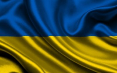 ukrainian flag, flag of ukraine, blue and yellow flag, ukraine