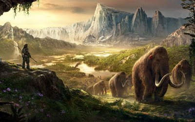 game, far cry, mammoths, takkar mammoths