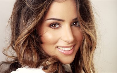 chanteur, ukrainien, zlata ognevich, belle fille, sourire