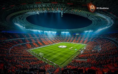 sold out, football, fc shakhtar donetsk, donbass arena, donetsk, stadium, ukraine, donbas-arena