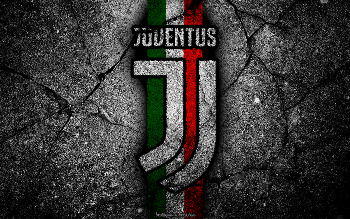 Juventus Stone Texture New Logo Serie A Art