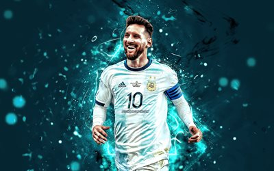 Lionel Messi, 2019, l'Argentine équipe nationale de football, les stars du football, but, Leo Messi, le football, Messi, l'Argentin de l'Équipe Nationale, close-up, les footballeurs
