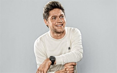 Niall Horan, Irish singer, portrait, photoshoot, smile, One Direction, Irish Star