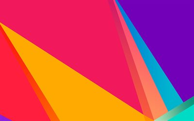 material design, rainbow, triangles, abstract art, geometry, lines, geometric shapes, lollipop, creative, strips, colorful backgrounds