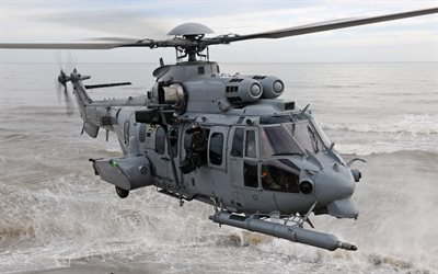 Eurocopter EC725 Caracal, French Air Force, french military transport helicopter, H225M, Airbus Helicopters H225M, France