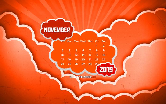Telecharger Fonds D Ecran Novembre 2019 Calendrier 4k