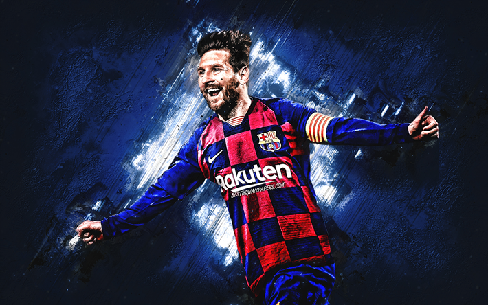 Download wallpapers Lionel Messi, FC Barcelona, portrait ...
