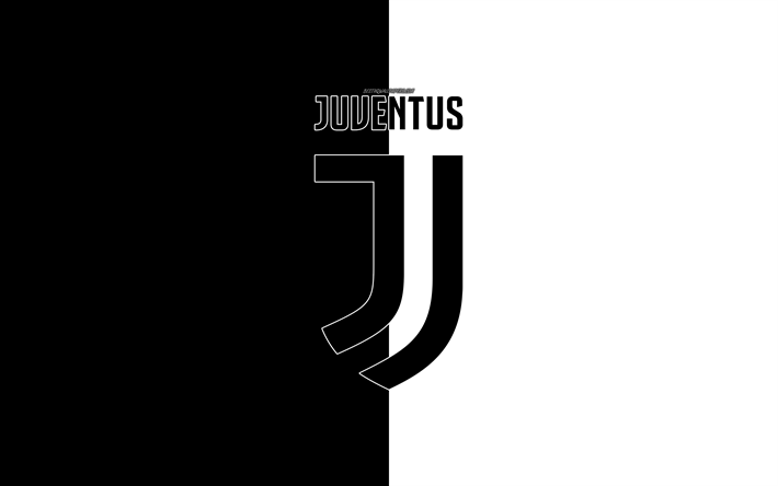 Scarica Sfondi Juventus Fc Torino 4k Logo Simbolo Bianco