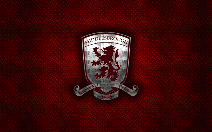 Download Wallpapers Middlesbrough FC, English Football