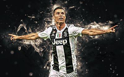 Download Wallpapers 4k Cristiano Ronaldo Goal Juventus