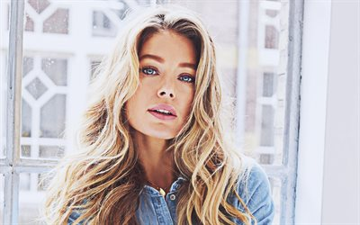 4k, Doutzen Kroes, 2020, olandese top model, modelli di moda, bellezza, Candice Susan Swanepoel, Victorias Secret Angel, photoshoot