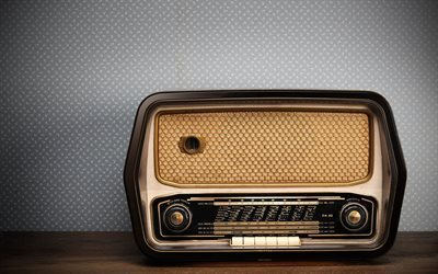radio, old stuff, old radio, retro stuff