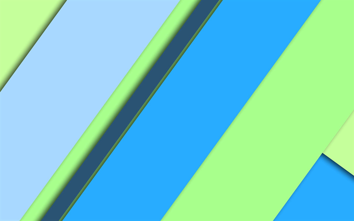 скачать обои Blue Green Abstraction Geometric Background