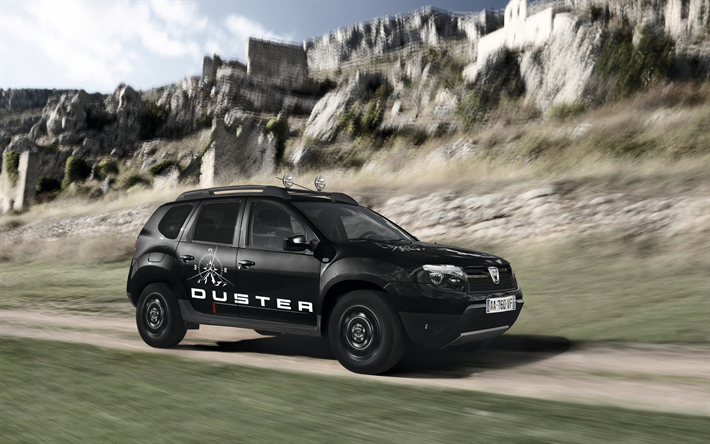 Download Wallpapers Dacia Duster Limited Edition 2018 Cars