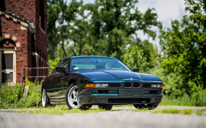 Download wallpapers BMW E31, Gran Turismo, 850CSI, BMW 8 ...