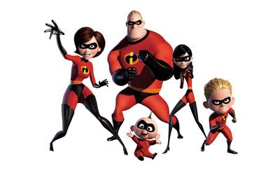 The Incredibles 2, 2018, characters, Buddy Pine