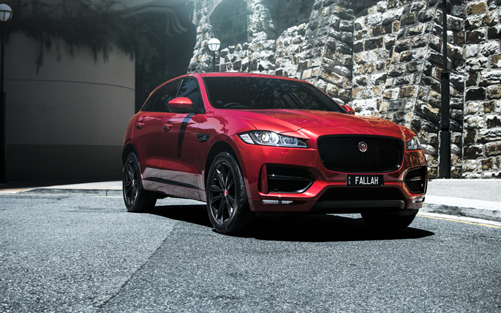 Bmw Of Murray >> Download wallpapers Jaguar F-Pace S, 4k, SUVs, 2019 cars ...