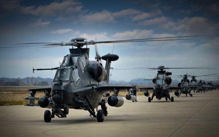 Download wallpapers Harbin Z-19, 4k, combat aircraft, WZ-19, attack