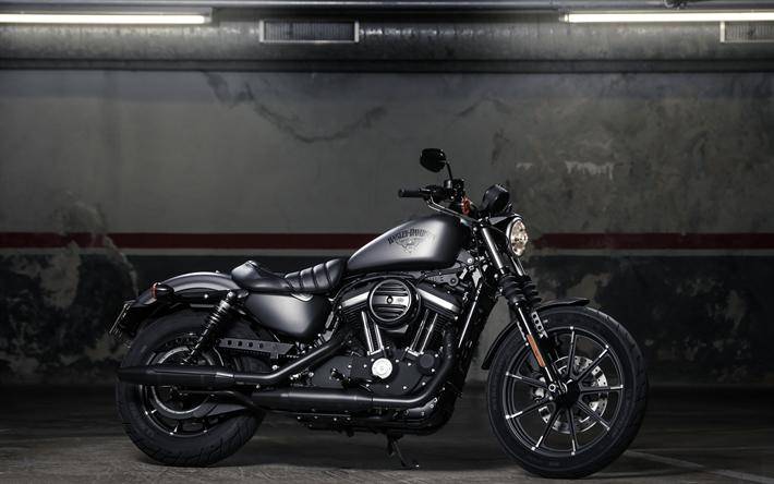 Download Wallpapers Harley Davidson Sportster Iron 883 Superbikes