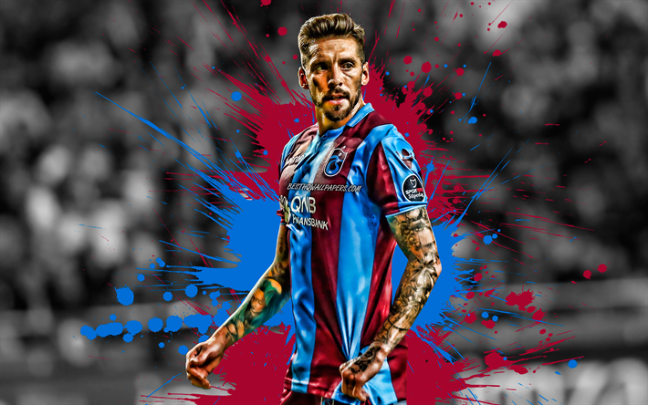 Download Wallpapers Jose Sosa, Purple And Blue Spots